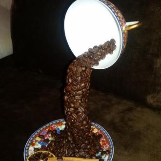 Кофейная летающая чашка