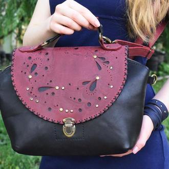 Шкіряна сумка