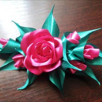 """Шпилька """"Троянда"""""""