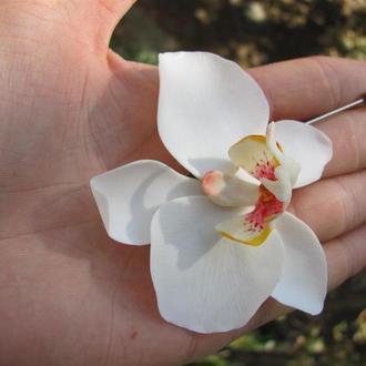 """Брошь """"Орхидея"""""""