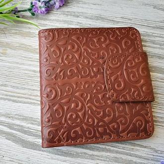 Портмоне шоколадные восточные узоры