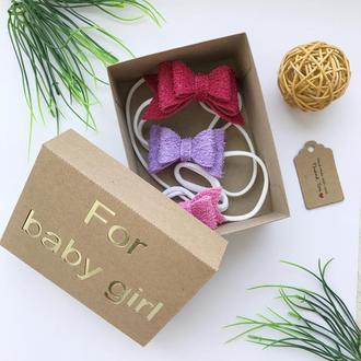 Подарунковий набір повязочок для волосся для дівчинки