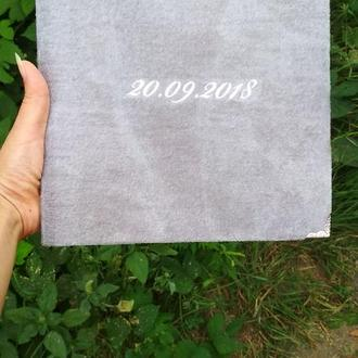 Книга пожеланий с печатными листами