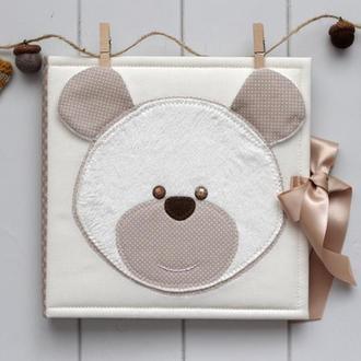 Дитячий фотоальбом для хлопчика / Детский фотоальбом для мальчика / Альбом для новорожденного