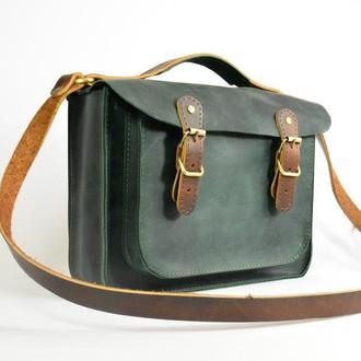 Кожаная сумка через плече Кожаная женская сумка
