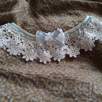 Кружевная подвязка для невесты