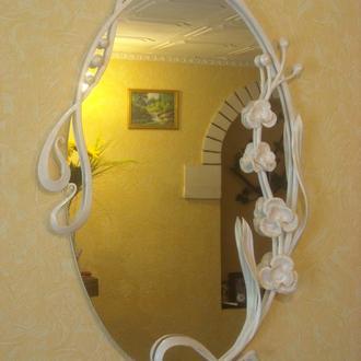 Зеркало кованное ручной работы.