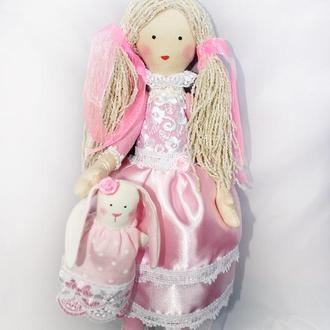 Кукла Алиса с Зайкой