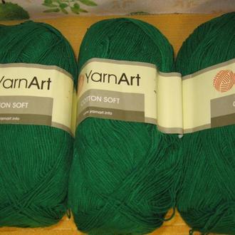 Пряжа ′Cotton Soft′  для вязания высокого качества ТМ ′Yarnart′