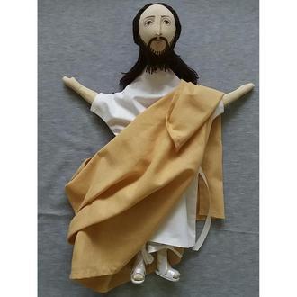 Кукла-варежка, игрушка для кукольного театра, Христос