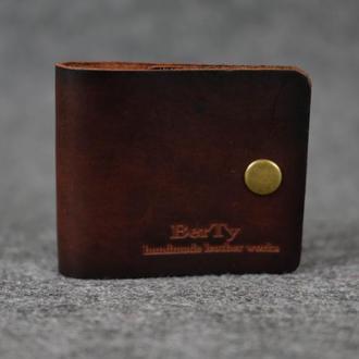 Компактный кошелек на лето |10322| Италия| Вишневый