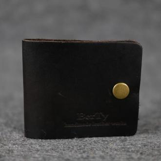 Компактный кошелек на лето |10319| Италия| Темный кофе