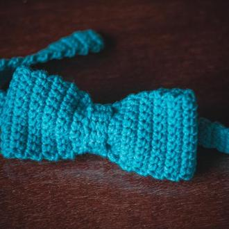 Вязаный галстук-бабочка на малыша 3-4-х лет (ручная работа!)