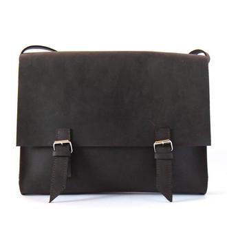 Стильная мужская сумка из натуральной кожи