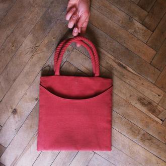 Льняна сумка