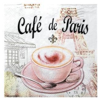 Салфетка Кофе в Париже 2-7119