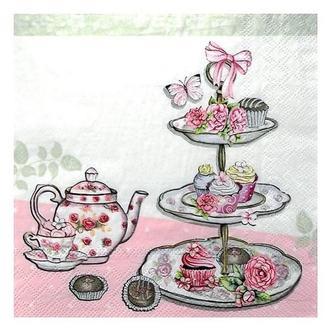 Салфетка Мафины и чайничек 2-7189