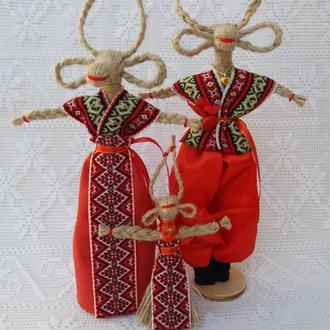 """Handmade. Семейка  , подарок-оберег в дом. """"Коза""""- символ  благополучия в семье."""