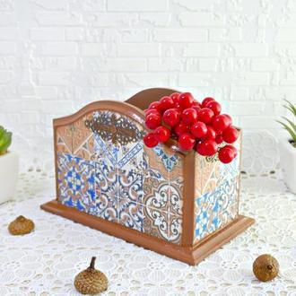 """Короб салфетница спецовница """"Марокко"""""""