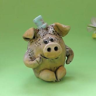 Свинка хрюш фигурка свиньи
