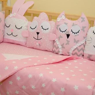 Защита в кроватку бортики