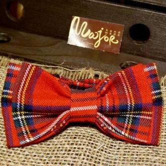 Метелик червона шотландка Классик2