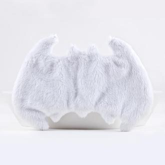 Бэтмен маска для сна, Подарок девушке, Белая маска для сна