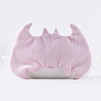 Бэтмен маска для сна, Подарок девушке, Розовая маска для сна