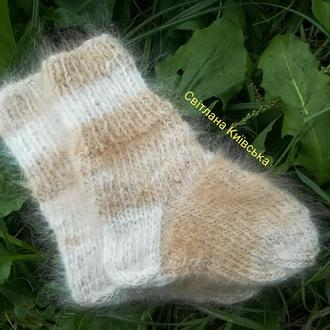 Шкарпетки з собачої шерсті носки шерстяные собачья шерсть носочки