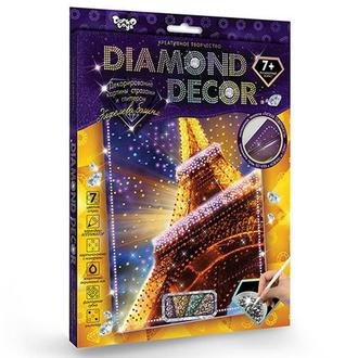 Алмазная мозаика 'DIAMOND DECOR' Эйфелева башня (DD-01-01)