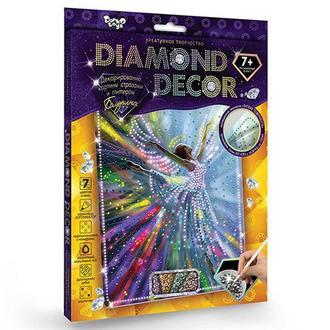 Алмазная мозаика 'DIAMOND DECOR' Балерина (DD-01-02)