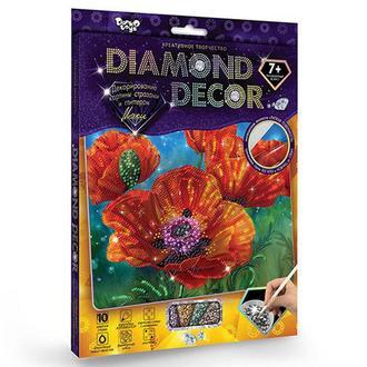 Алмазная мозаика 'DIAMOND DECOR' Маки (DD-01-04)