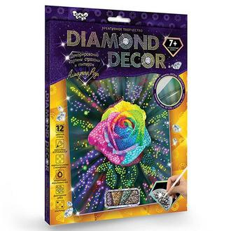 Алмазная мозаика 'DIAMOND DECOR' Роза (DD-01-05)