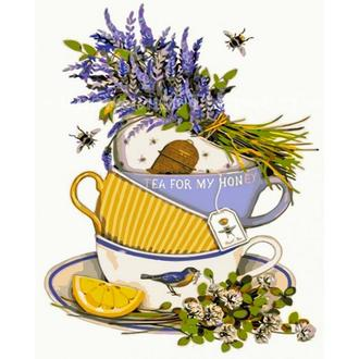 Картина по номерам Лимонный чай, 40х50см. (КНО5502)