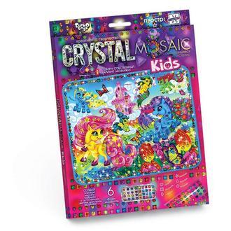 Мозаика стразами (алмазами) Пони, детская серия (CRMk-01-01)