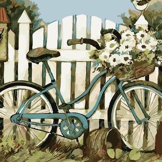 Картина по номерам У ворот, 40x50 (AS0097)