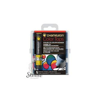 Набор 5 блендеров Chameleon 5 Color Tops Primaryl Tones Set СТ4502