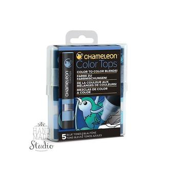 Набор 5 блендеров Chameleon 5 Color Tops Blue Tones Set СТ0513