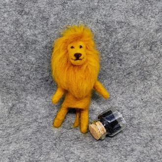 "Валяная игрушка ""Лев"""