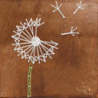Набір для творчості в техніці String Art Кульбабка