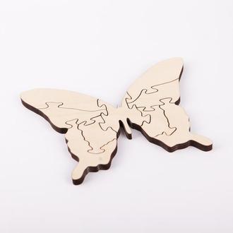 """Деревяні пазли """"Метелик"""""""