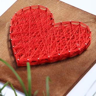 Набір для творчості в техніці String Art Велике серце