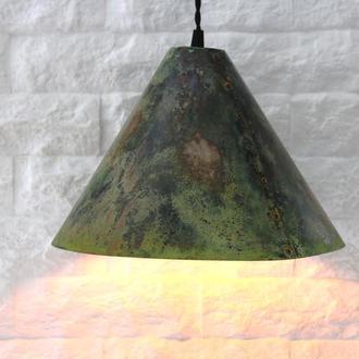 Светильник из меди (состаренный)