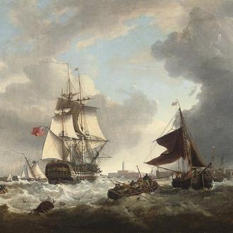Картины на морскую тематику ведущих европейских художников 17-20 веков.