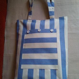 """Эко сумка - шоппер """"Хочу на море"""""""