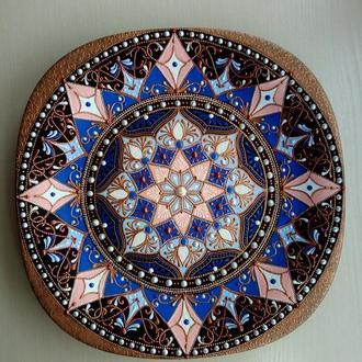 """тарелка декоративная """"Восточные ночи"""""""