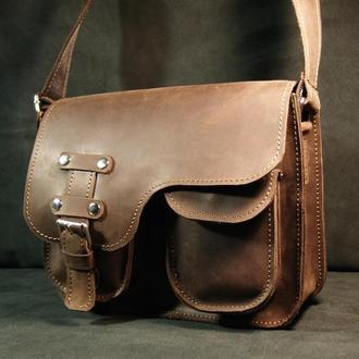 Кожаная сумка smart bags