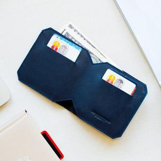 Кожаный бумажник FRANK