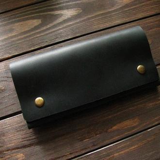 Клатч-портмоне. Чёрный