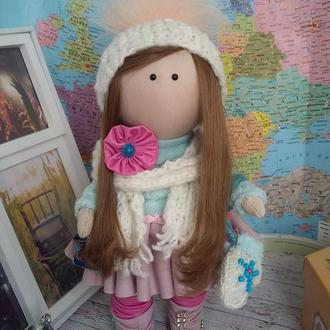 Интерьерная кукла куколка Наташа 27см